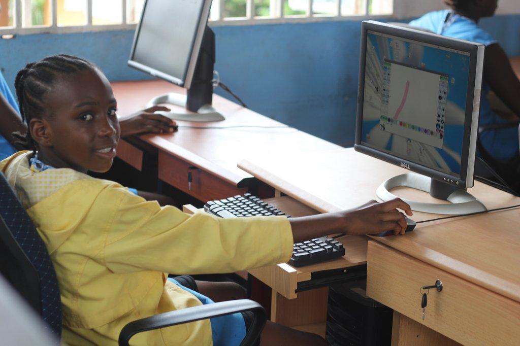 FAWE Girl Computer Training