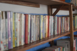 adjacent library