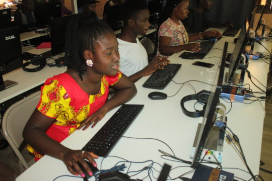 Provide Computer Skills Training in Sierra Leone