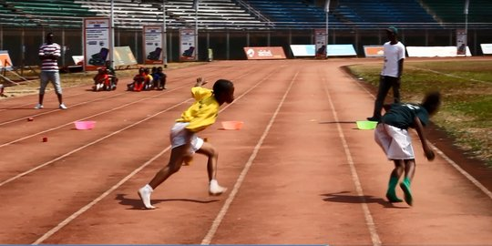 sports competition - at National Stadium