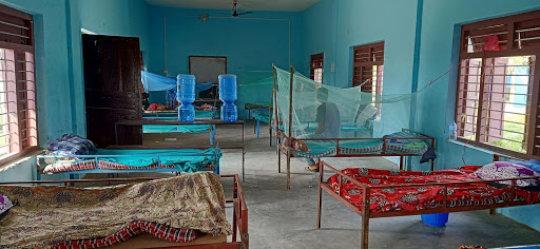 A glimpse of the Dudhauli quarantine center