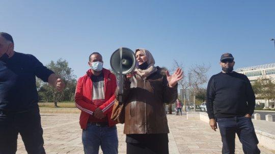 Amal Sumarin following the Court hearing on 04/05