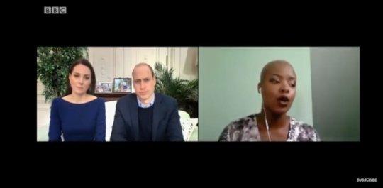 The Duke & Duchess interviewing Dr Zolelwa Sifumb