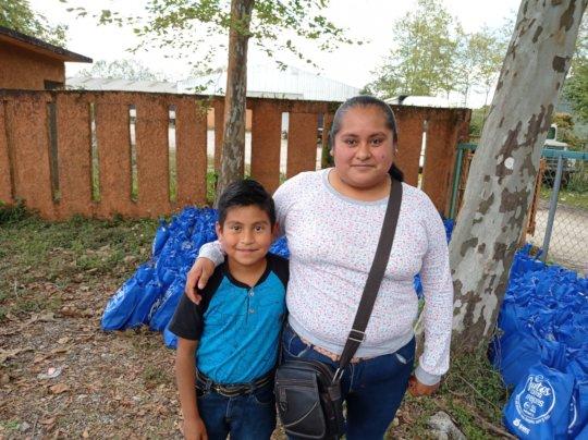 Familias atendidas en el estado de Puebla