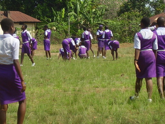 Girls gets practical skills on field