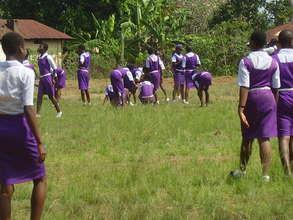 Girls gets practical skills on field