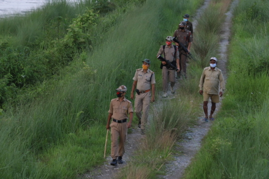 Representative picture of Forest Guards on duty