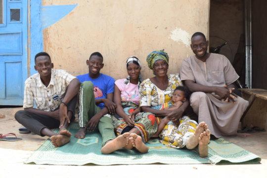 A happy Reintegrating Family