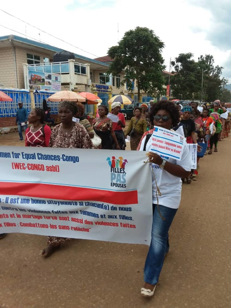 Raising voice against child marriage