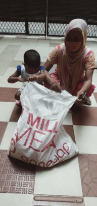 Our food ration kit distributed in Najafgarh