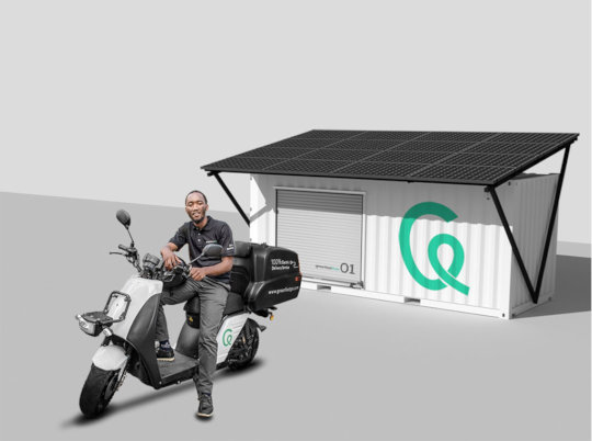 Support us pilot 100% electric delivery service