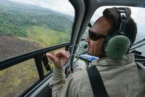 Forest Ranger Surveying Land