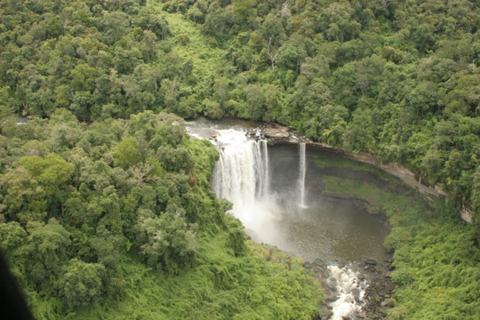 Beautiful waterfall in the new National Park.
