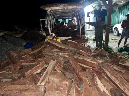 Minivan luxury timber ambush.