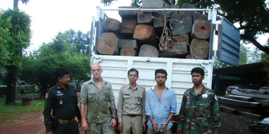 Rangers with Confiscated Rosewood