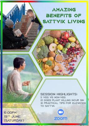 Benefits of Sattvik Living