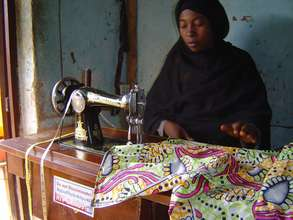 Tailoring Business Owner  now provides for her fam