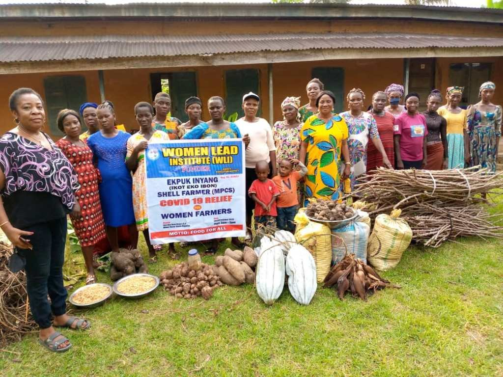 Providing seedlings to farmers in Nigeria