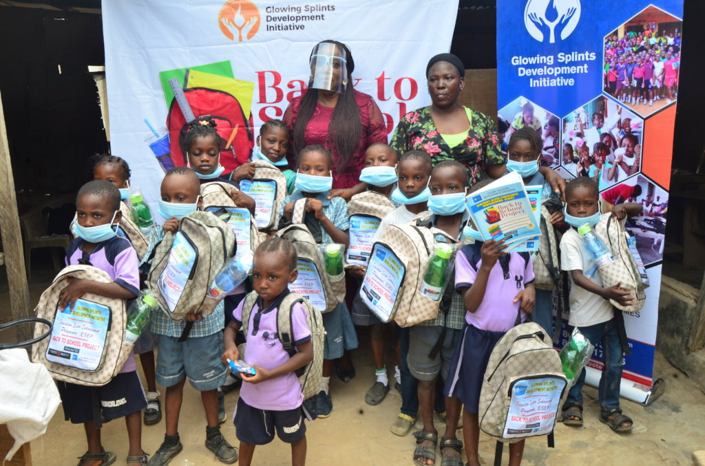 School Supplies and PPEs for Children in Nigeria
