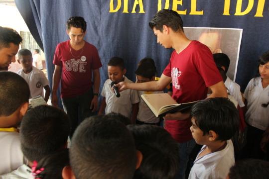 """Spanish Language Day"" celebration at local school"