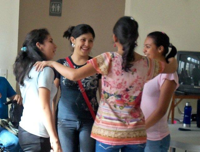 Capacity building course on self-esteem, 2012