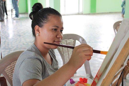 Building confidence through artistic expression.