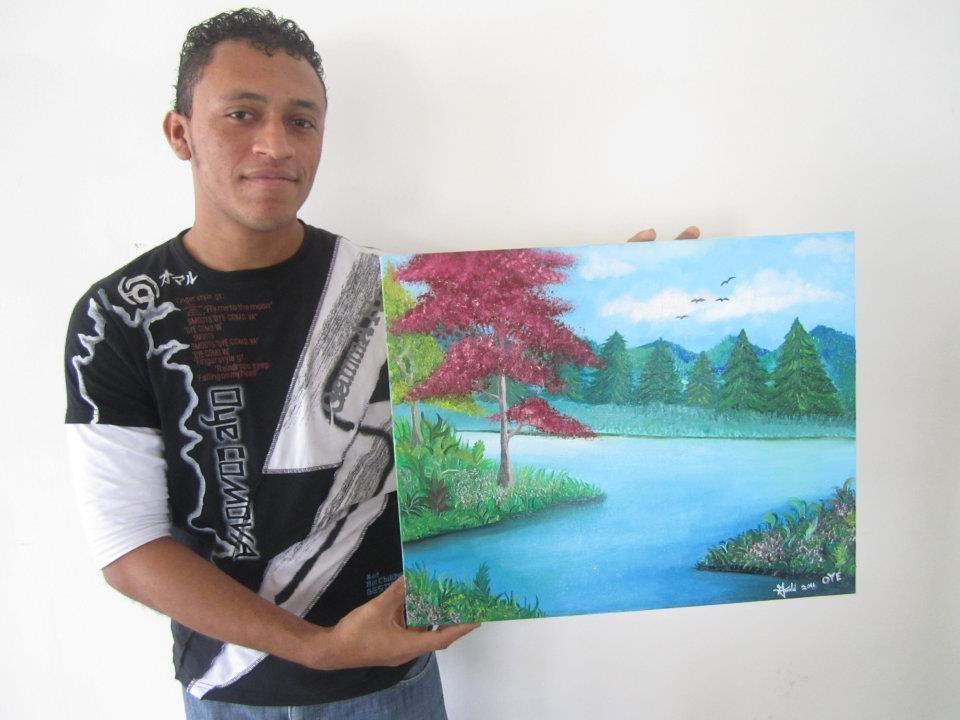 Gerald Velasquez, Honduran artist