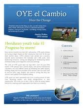 OYE El Cambio: Quarterly Newsletter (PDF)