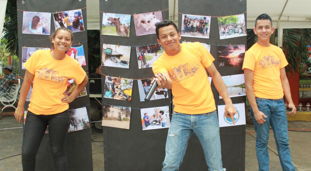 Photo expo at OYE