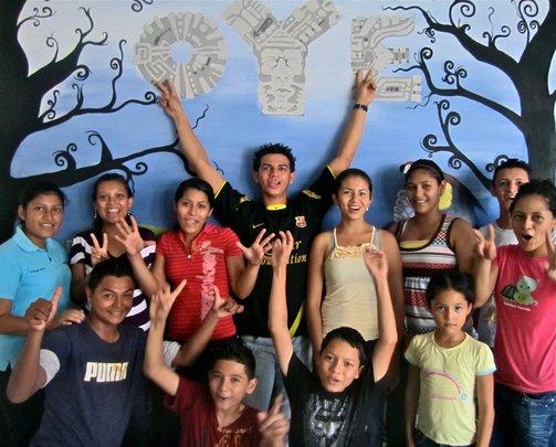 OYE Kids in April 2012
