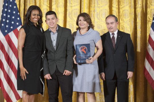 OYE Reps w/ FLOTUS Michelle Obama at White House