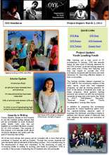 OYE Project Report March 2011 (PDF)