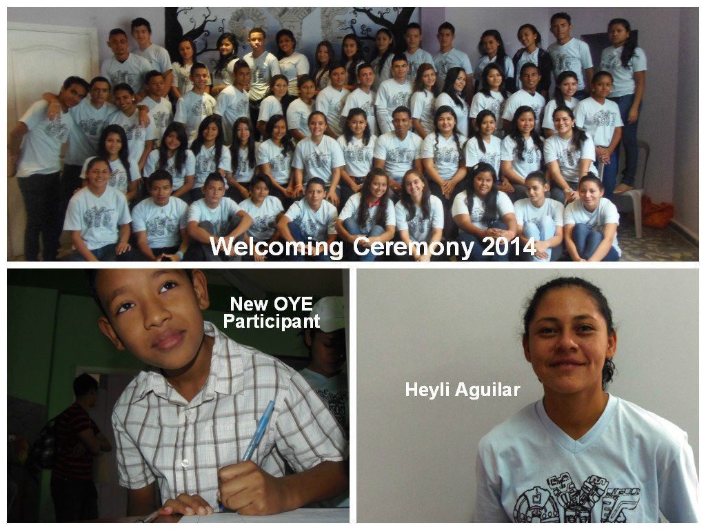 Welcoming Ceremony 2014