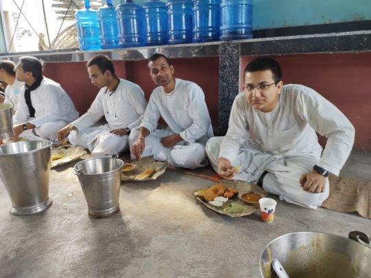 @Lunch in Gurukul