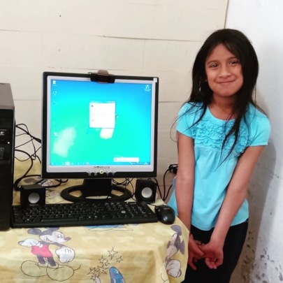 VOLUNTEER GROUP THAT INSTALLED THE COMPUTERS