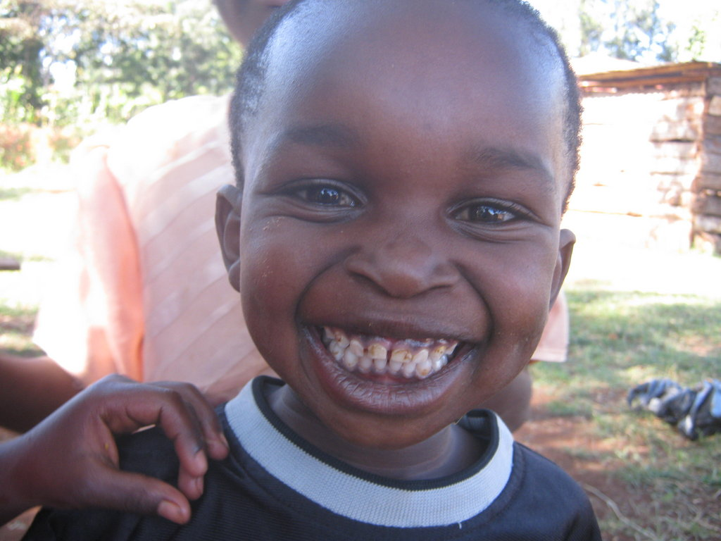 Big Smiles in Kenya for Kampala 2 Cape Town