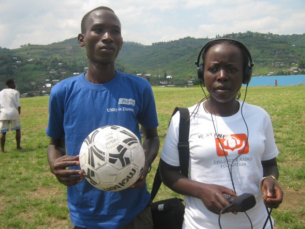 Youth journalist trained during World Cup