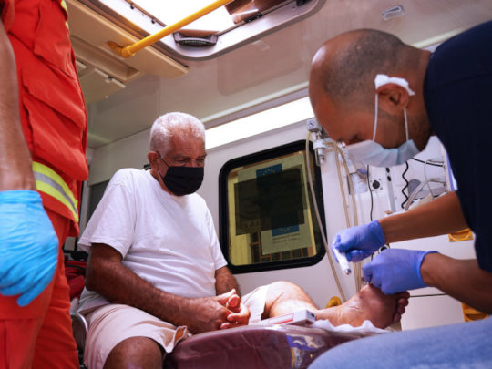Mobile Medical Unit deployed to Beirut