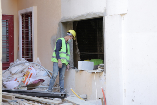 Our team rehabilitated Karaguezian PHCC