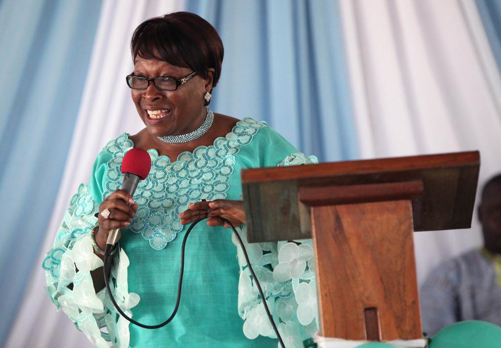 Madam Katumu Boikai, honored speaker