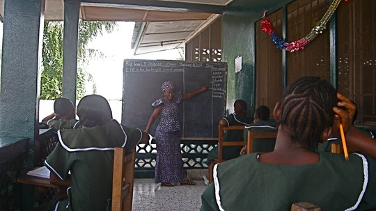 Rehabilitation for victimized girls in Liberia