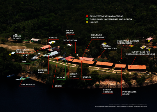 Map of Tumbira, Amazonas, Brasil