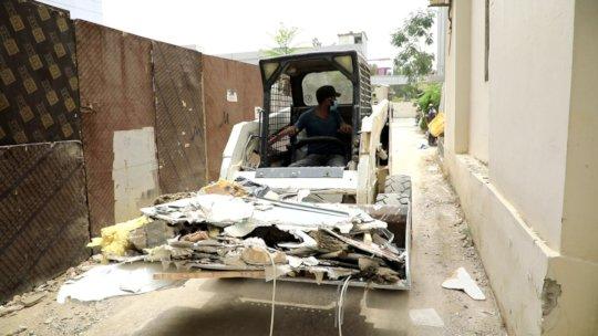 Mechanic shovels renting