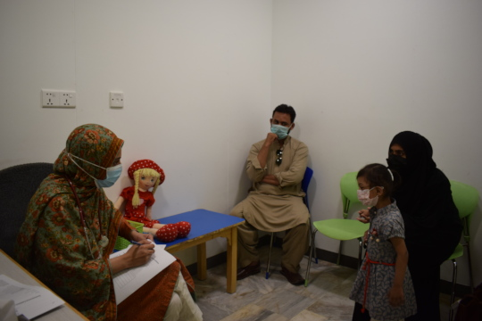 Consultation with Developmental Pediatrician