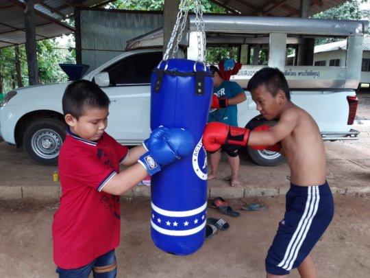Sport activity-Thai Boxing