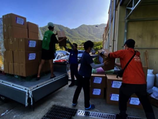 distributing the kit