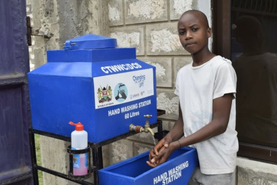 Handwashing at GOA