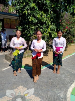 New vocational students from Tampak Siring