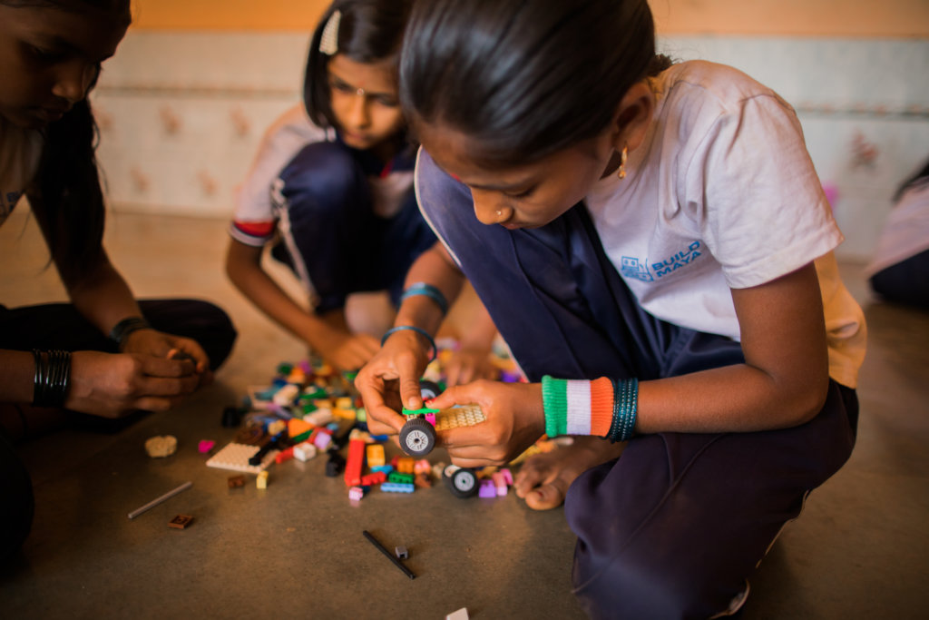 Life Skills using Lego for 260 Children in India