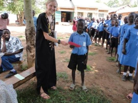 Volunteer From North Carolina Visit the OVCs
